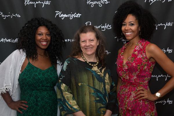 Marinda Anderson, Lynne McCollough and Nedra McClyde