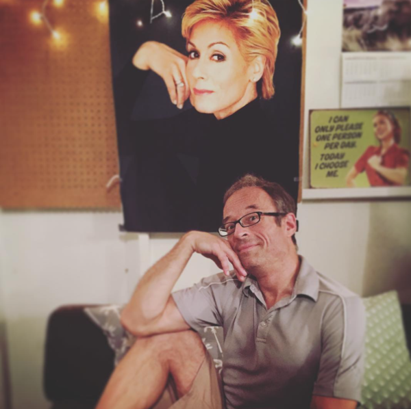 Avenue Q (Off-Broadway): @jedresPatron Saint Judith Light welcomes back original @avenueqmusical musical director Gary Adler for the fall! #SIP #judithlight @officialbroadwayworld