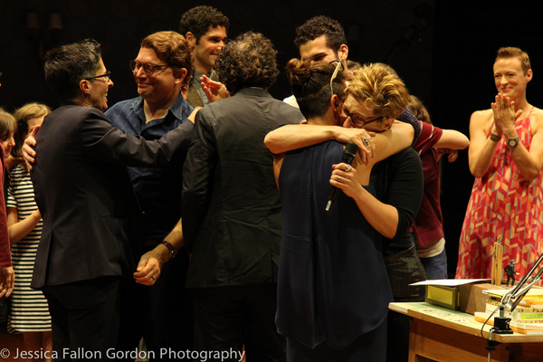 Photo Coverage: FUN HOME Closes on Broadway with Emotional Final Curtain Call