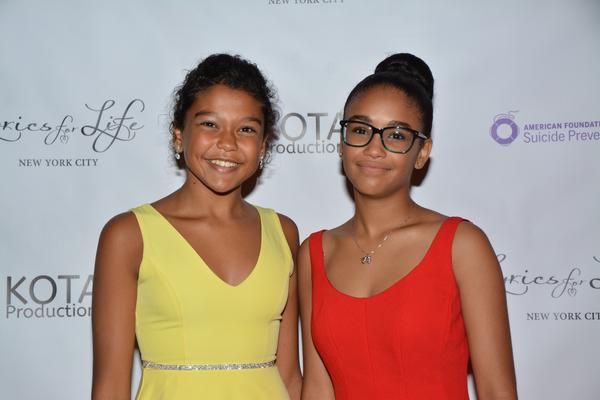 Nicole Wildy and Sumaya Bouhbal