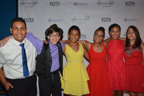 Danny Pena, Josiah Jacoby, Nicole Wildy, Sumaya Bouhbal, Madison Zamor and Raquel Wallace