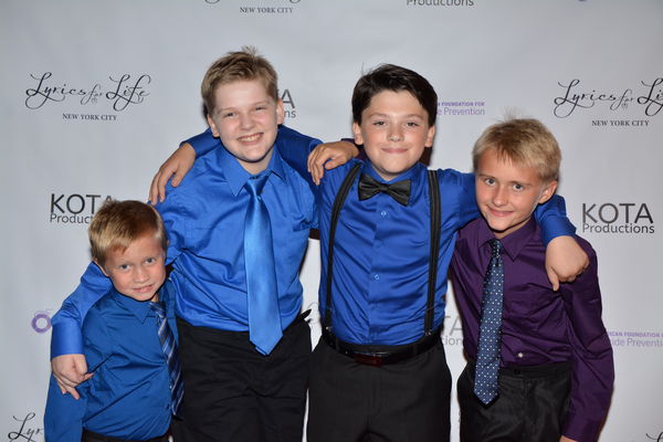 Thomas Becht, Maddox Elliot, Zach Anderson and Bobby Becht
