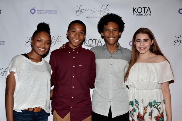 Eden Duncan-Smith, Chris Sumpter, Luka Kain and Rachel Resheff Photo