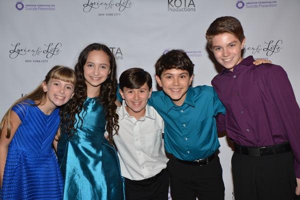 Iris Davies, Ashley Brooke, Austin Levine, Ben Krieger and Jeremy Lanuti Photo