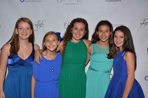 Catherine Pickett, Alyssa Franck, Hannah Dubroff, Victoria Csatay and Chloe Smith Photo