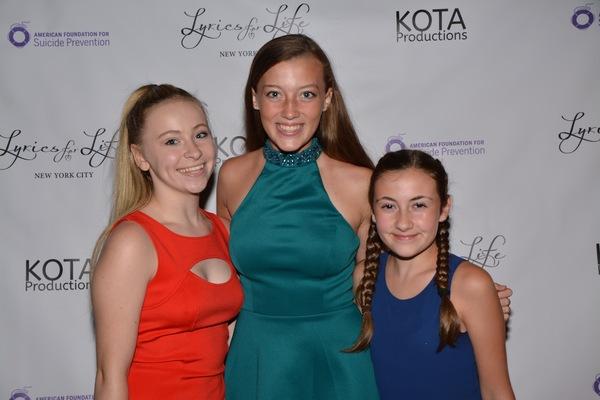 Brionna Trilling, Jaylen Baron and Sophia Guarnaschelli