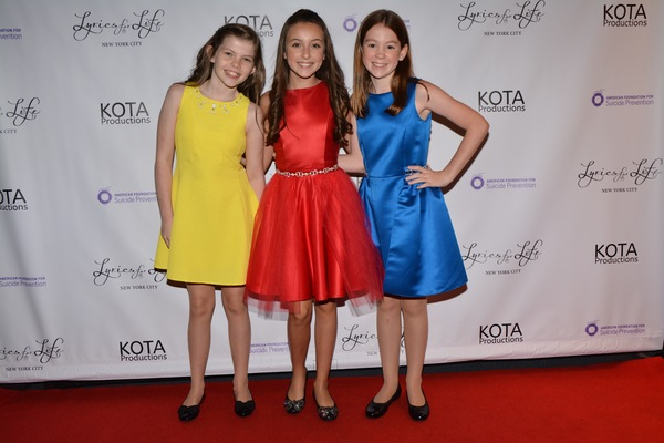 Kate Godfrey, Ashley Lanzoni and Elizabeth Crawford