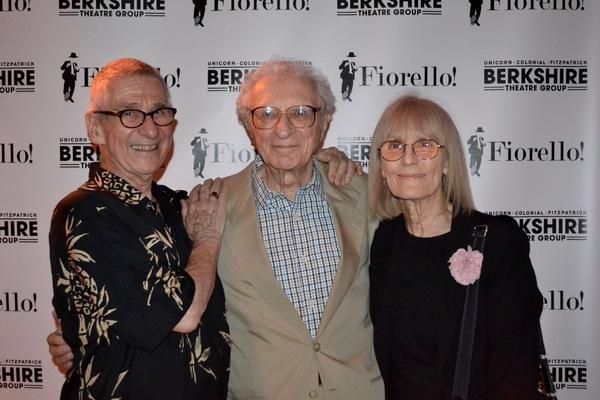 Bob Moss, Sheldon Harnick and wife, Margery Gray Harnick  Photo
