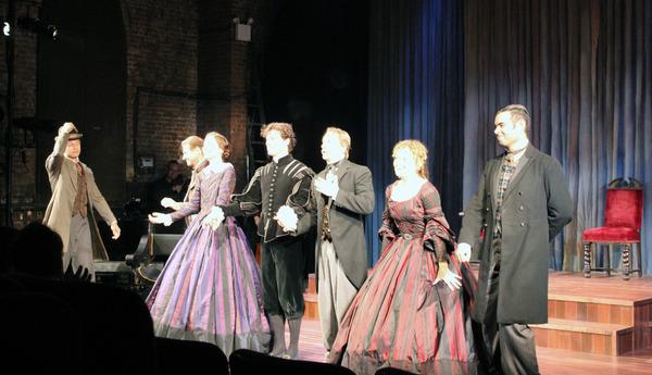 Photo Flash: EDWIN, THE STORY OF EDWIN BOOTH Celebrates Opening Night Off-Broadway