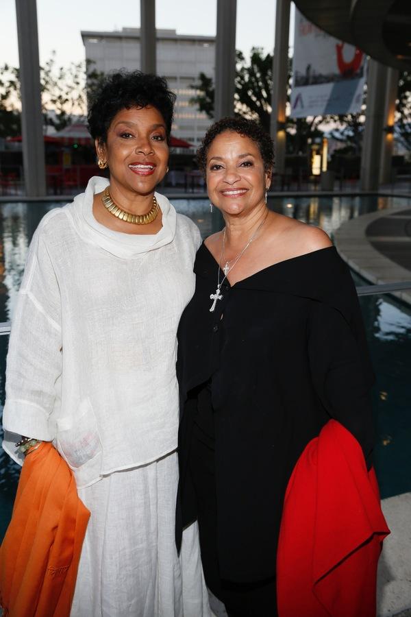 Director Phylicia Rashad and Debbie Allen