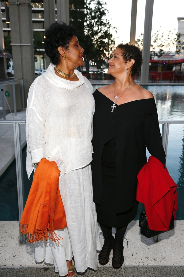 Director Phylicia Rashad and Debbie Allen