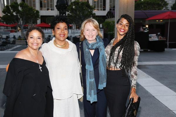 Debbie Allen,  Phylicia Rashad, Kate Burton and Vivian Nixon