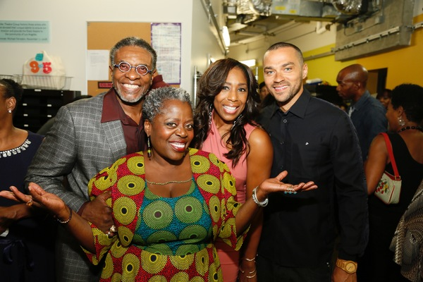 Keith David, Lillias White and Dawnn Lewis and Jesse Williams