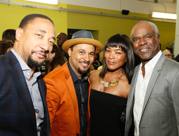 Damon Gupton, Jason Dirden, Angela Bassett and Glynn Turman