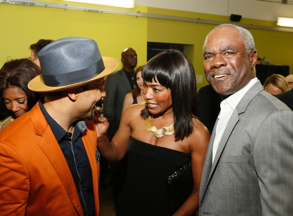 Jason Dirden, Angela Bassett and Glynn Turman