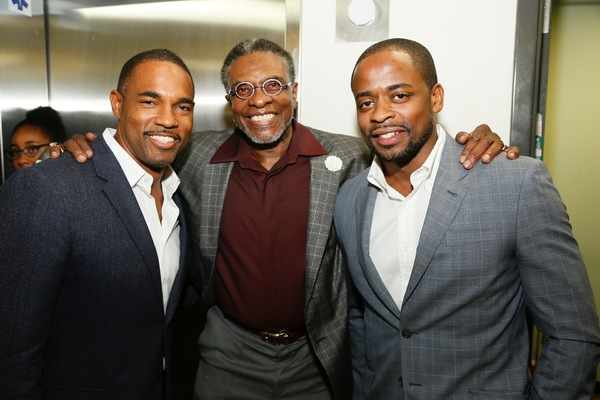 Jason Winston George, Keith David and Dule Hill