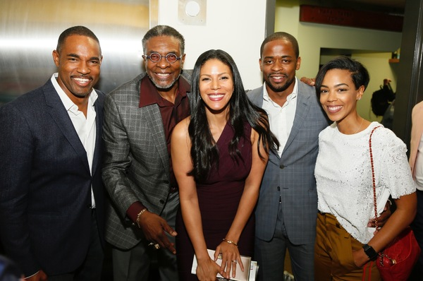 Jason George, Keith David and Merle Dandridge, Dule Hill and Jazmyn Simon
