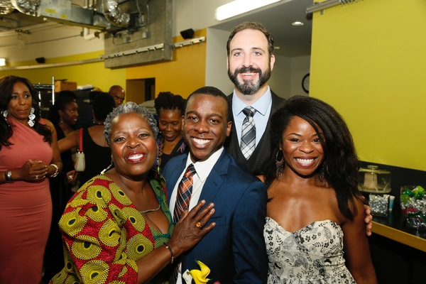 Lillias White, Lamar Richardson, Ed Swidey and Nija Okoro