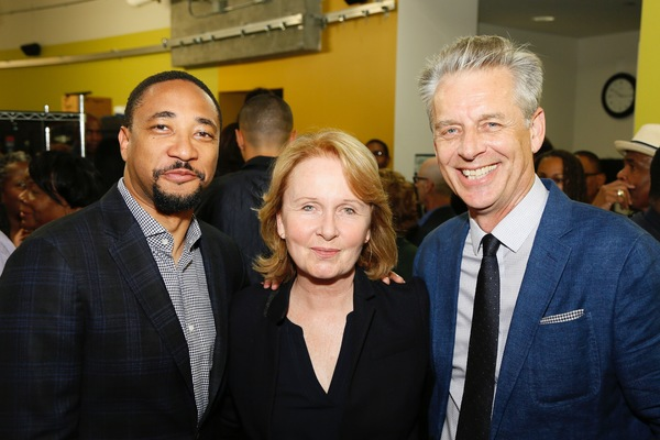 Damon Gupton, Kate Burton and Michael Ritchie
