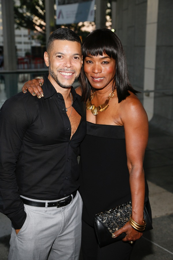 Actors Wilson Cruz and Angela Bassett