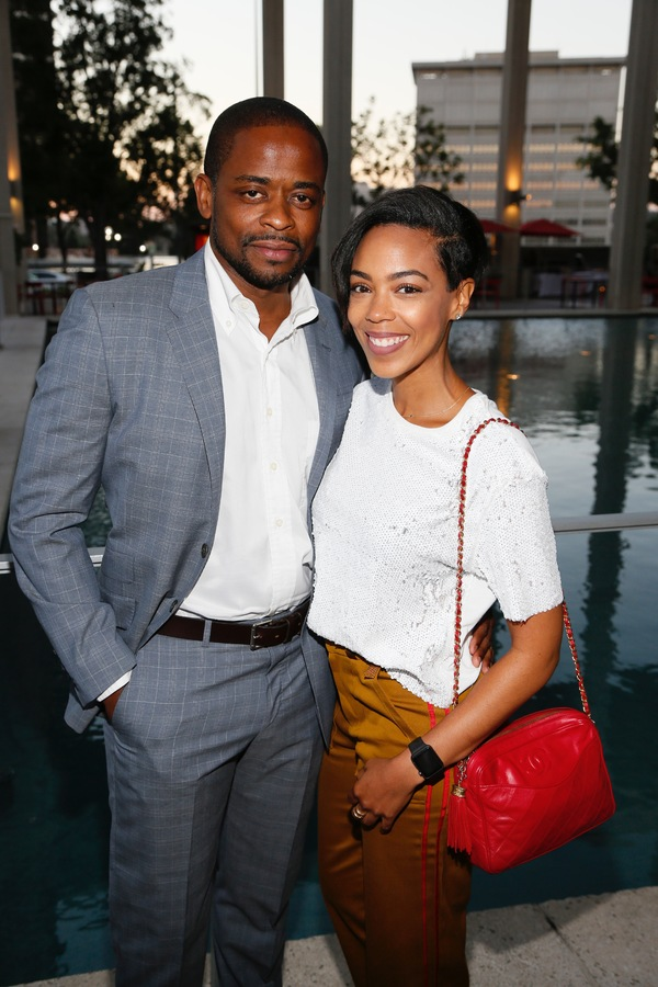Actors Dule Hill and Jazmyn Simo