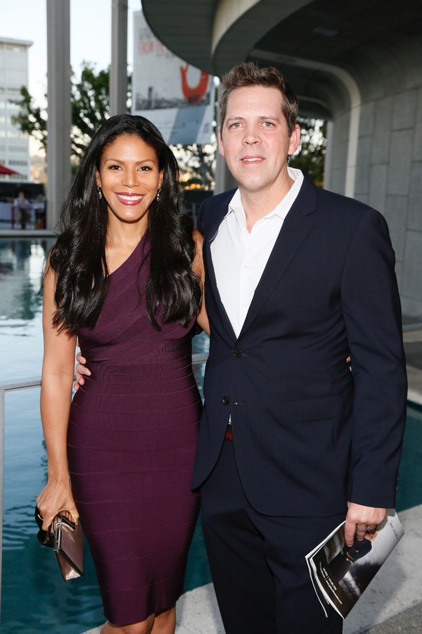 Actor Merle Dandridge and Chris Johnston