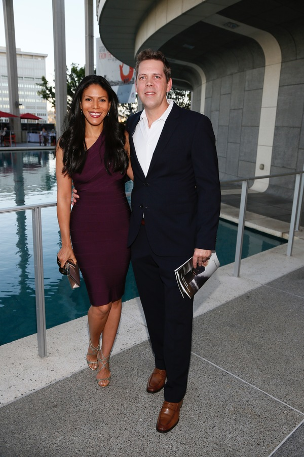 Merle Dandridge and Chris Johnston
