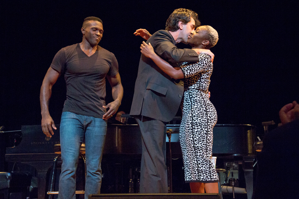 Joshua Henry, Jason Robert Brown, Cynthia Erivo