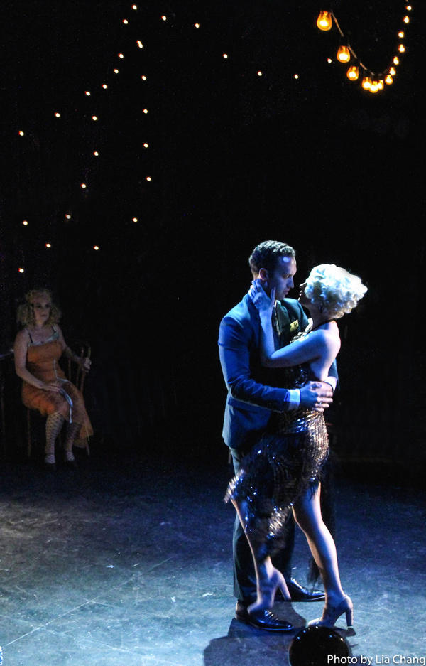 Photo Flash: Jamey Hood and Denis Lambert in B-Side Productions' THE WILD PARTY