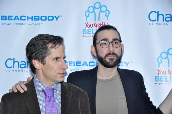 Seth Rudetsky and Max Crumm