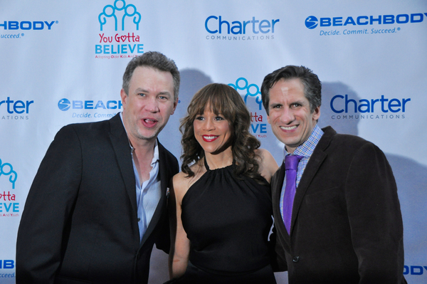 James Wesley, Rosie Perez and Seth Rudetsky