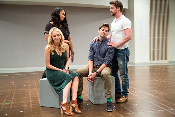 Betsy Wolfe, Tracie Thoms, Andrew Rannells, Christian Borle