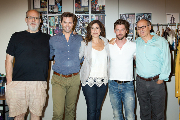 William Finn, Andrew Rannells, Stephanie J. Block, Christian Borle, James Lapine