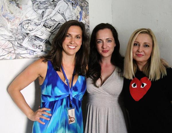 Aubrey Saverino,  Brooke M. Haney and Natalie Burlutskaya