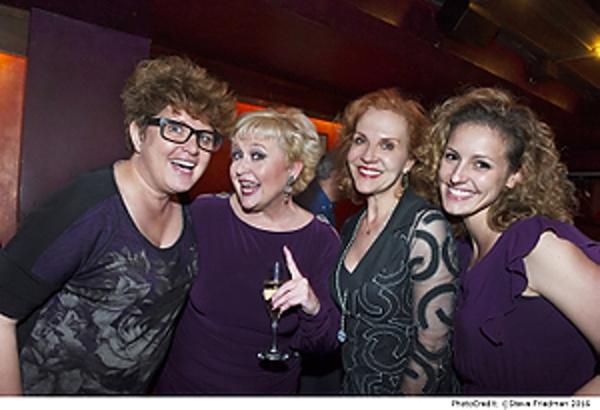 Klea Blackhurst, Sally Mayes, Anna Bergman and Andrea Prestinario