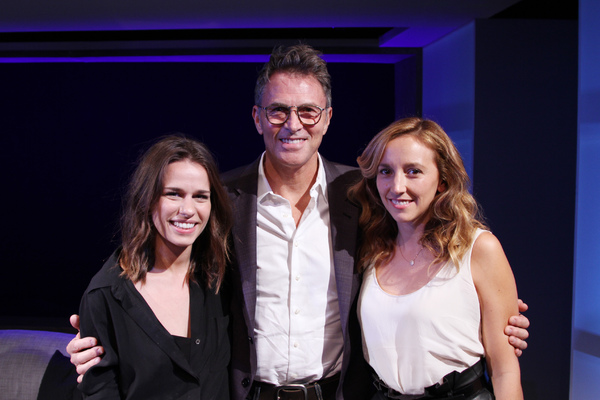 Ana Nogueira, Tim Daly and  Adrienne Campbell-Holt