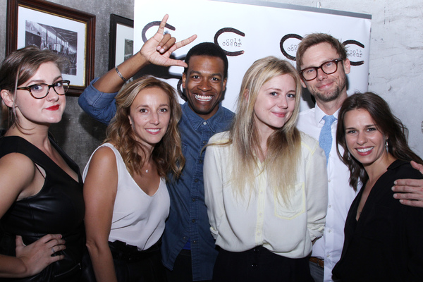 Brittany Coyne,  Adrienne Campbell-Holt, and Genesis Oliver, Justine Lupe and Jimmi Simpson, Ana Nogueira