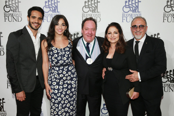 Ektor Rivera, Ana Villafane, James L. Nederlander, Gloria Estefan and Emilio Estefan
