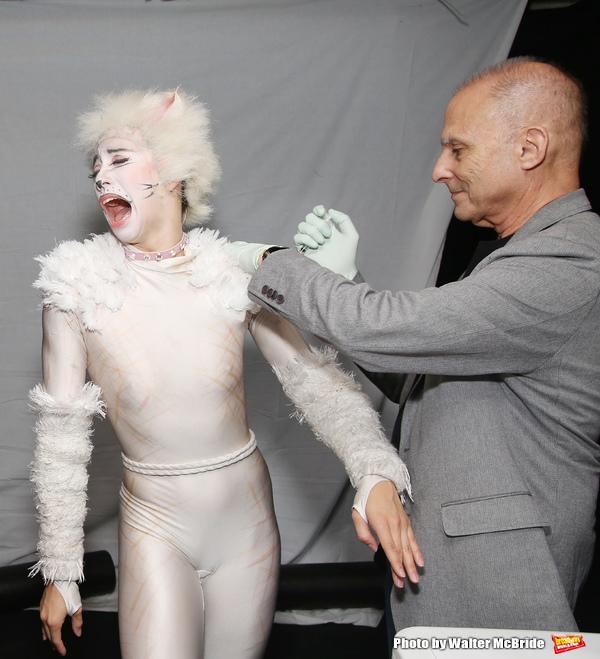 Georgina Pazcoguin with Dr. Barry Kohn