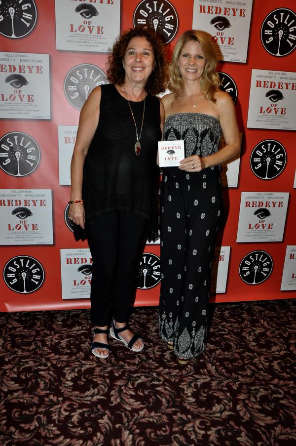 Donna Trinkoff and Kelli O'Hara