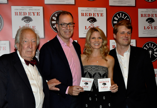 Arnold Wulp, Ted Sperling, Kelli O'Hara and Sam Davis