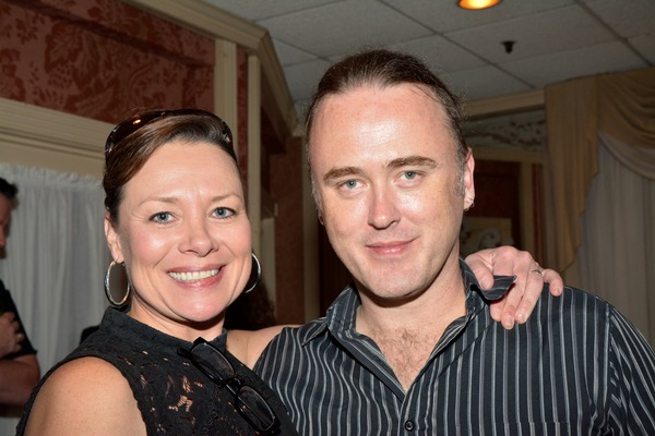 Dee Reilly and James Kelly