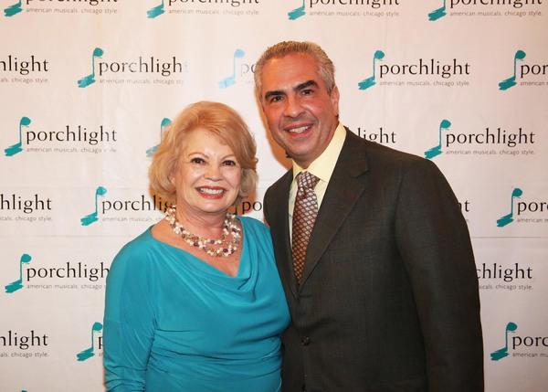 Kathy Garver and Paul Lisnek