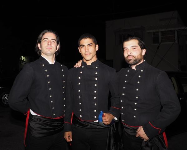 Danny Siegel, Chris Jones, and Jeff Hamasaki Brown Photo
