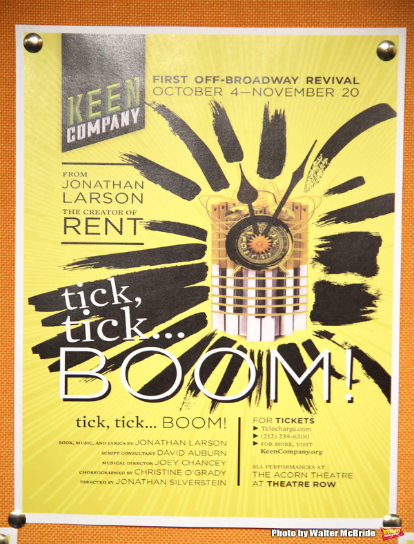 'Tick, Tick...Boom!' starring Nick Blaemire, Ciara Renée, and George Salazar with direction by Jonathan Silverstein at the KEEN Theatre