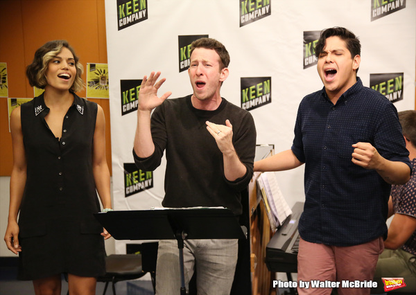 Photo Coverage: Louder Than Words! Inside Rehearsal with the Company of TICK, TICK...BOOM! Off-Broadway