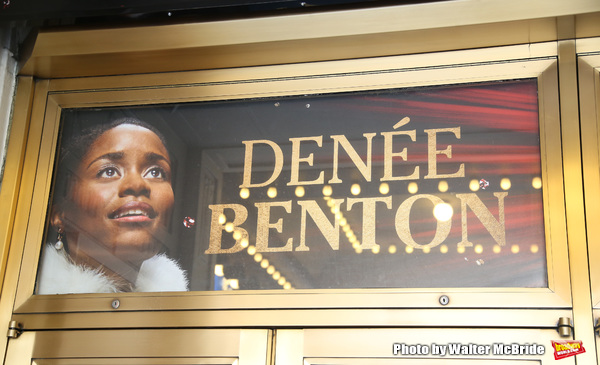 Theatre Marquee unveiling for 'Natasha, Pierre & The Great Comet of 1812' starring Josh Groban and Denee Benton at the Imperial Theatre  on September 15, 2016 in New York City.