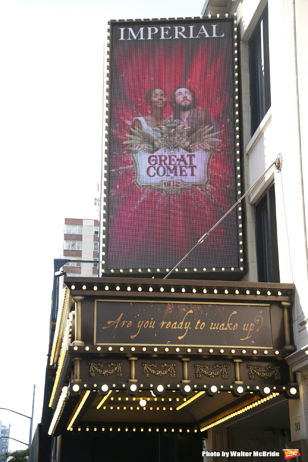 Up on the Marquee: NATASHA, PIERRE, AND THE GREAT COMET OF 1812