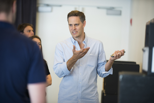 Photo Flash: In Rehearsal for Samuel D. Hunter's THE HARVEST at LCT3
