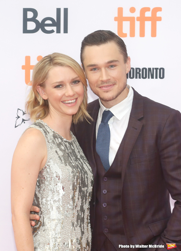 Valorie Curry and Sam Underwood